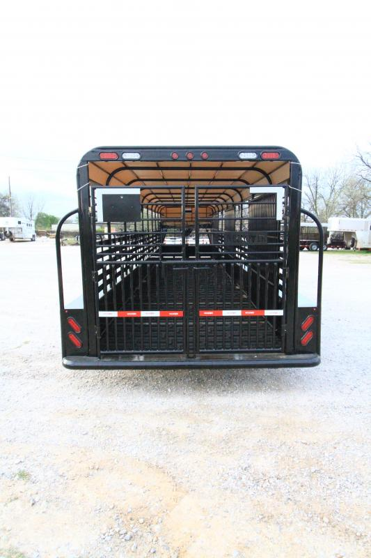 2021 Neckover 36'x6'8 GN Stock Trailer