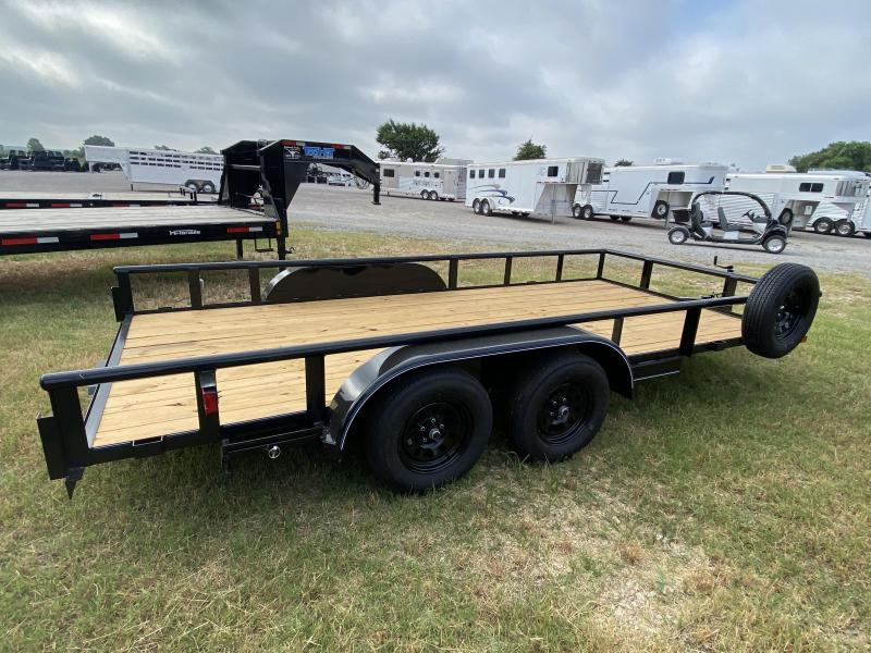 2021 Top Hat 7x16' Bumper Pull Uility