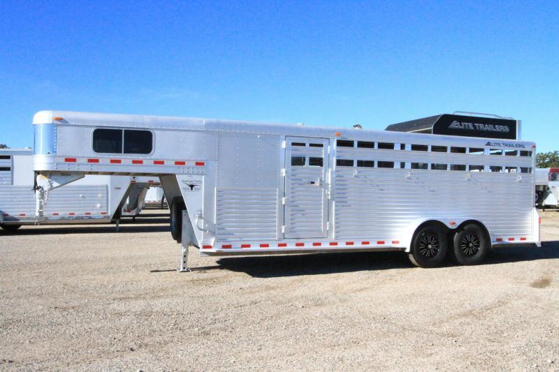 2007 Elite Trailers Stock Combo Livestock Trailer