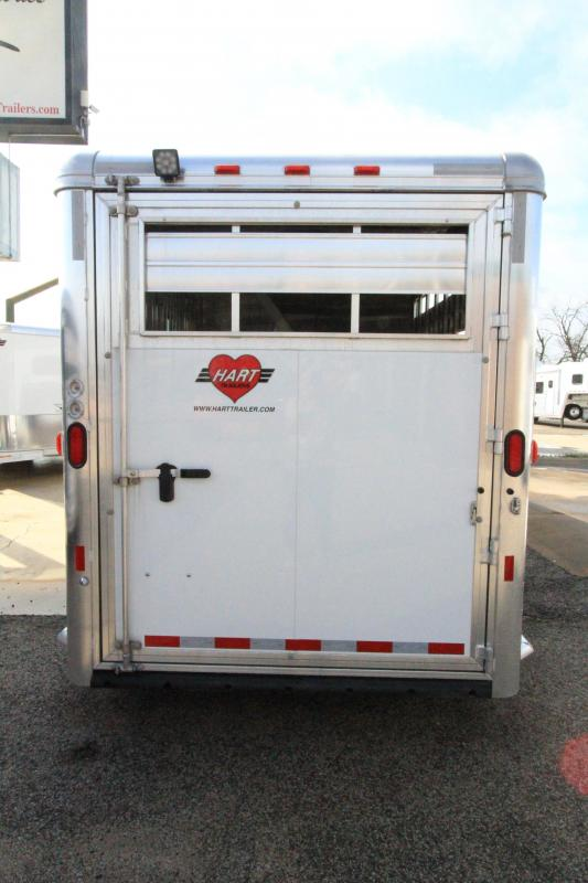 2020 Hart Soultion 3H/GN Smart Tack II Horse Trailer