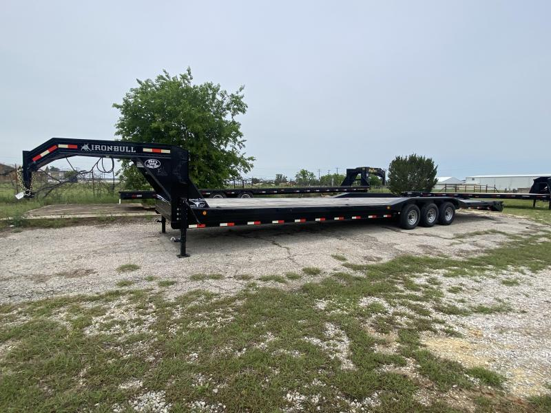 2019 Iron Bull 40' GN Flatbed Trailer