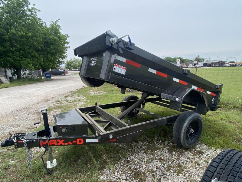 2021 MAXXD 5'x10' BP Dump - Single Axle