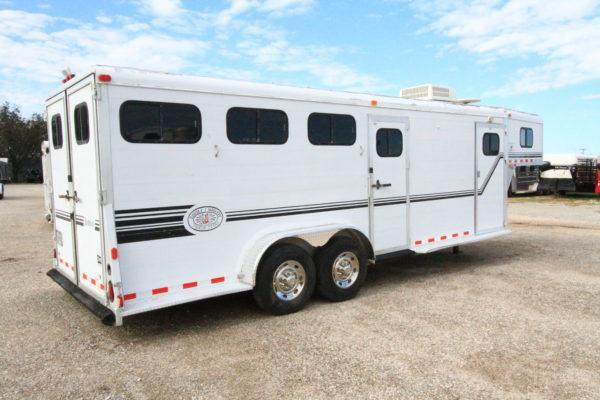 1998 Jamco 4H GN Weekend Package Horse Trailer