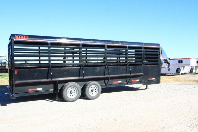 2019 Wyatt Stock Livestock Trailer