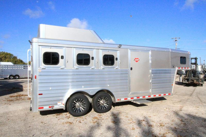 2020 Hart Tradition 3H/GN Horse Trailer