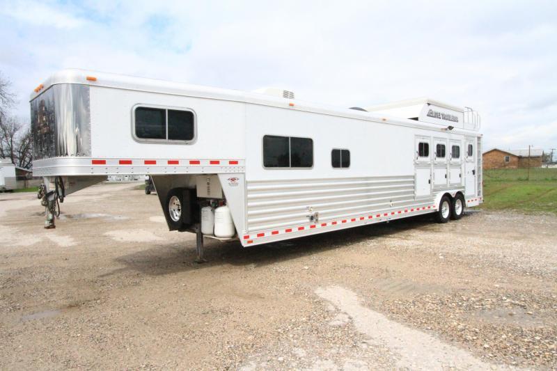 2014 Elite 4 Horse Reverse Load 13' SW LQ