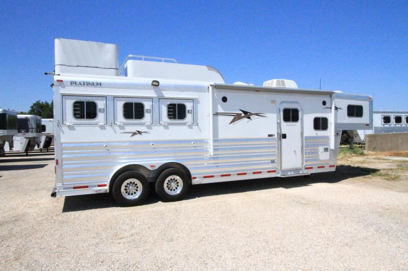 2019 Platinum Coach 3H 10'4 SW Horse Trailer