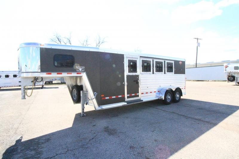 2020 Hart Trailers Solution 4H/GN Horse Trailer