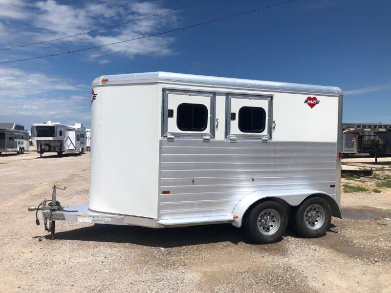 2007 Hart Medallion 2H BP Horse Trailer