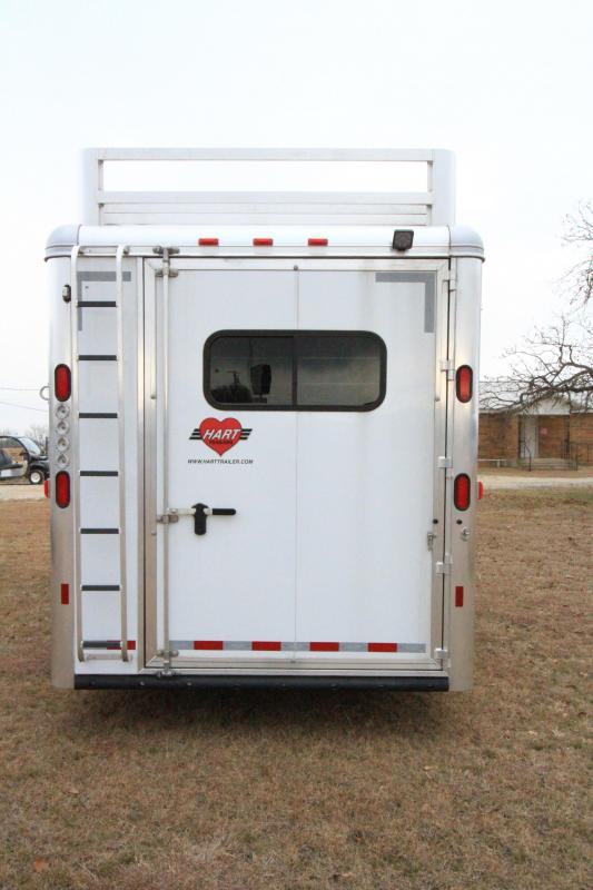 2020 Hart Tradition 4H/GN Smarttack Horse Trailer