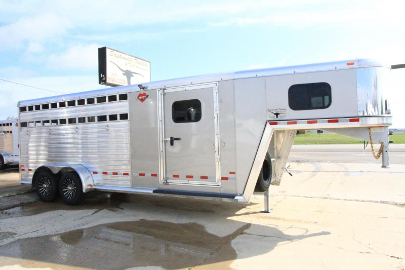2020 Hart Solution 4H Smart Tack II Horse Trailer