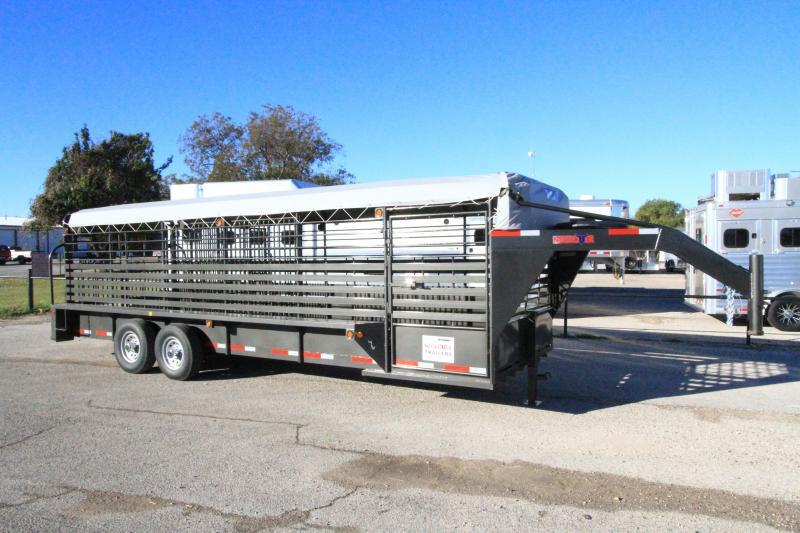 2020 Neckover Trailers Bull Tuff Livestock Trailer