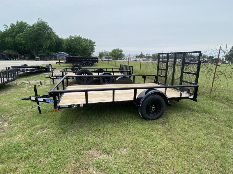 2021 TopHat 6'x12' BP Utility - Single Axle & Full Ramp