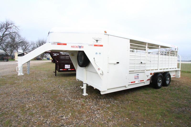 2021 Neckover Bull Tuff 20'x7' Stock Combo