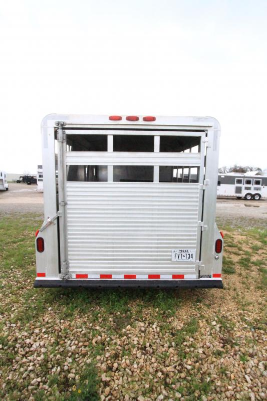 1996 4-Star 3H Stock Combo Trailer w/ weekend PKG