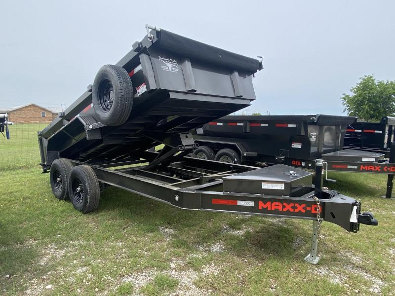 2021 MAXXD 14' BP Dump - 2' sides - Lo Profile