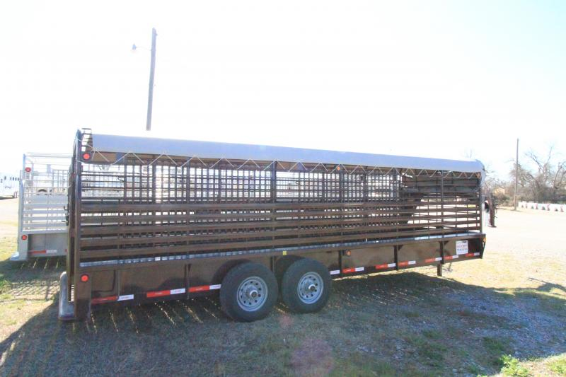2021 Neckover 24' GN Stock Trailer BT - RF