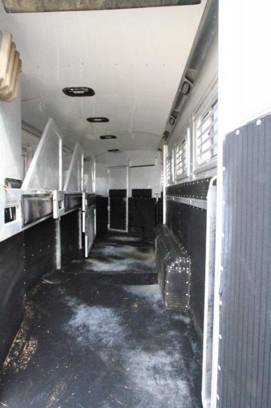 2004 Platinum 4H 12' SW LQ Horse Trailer