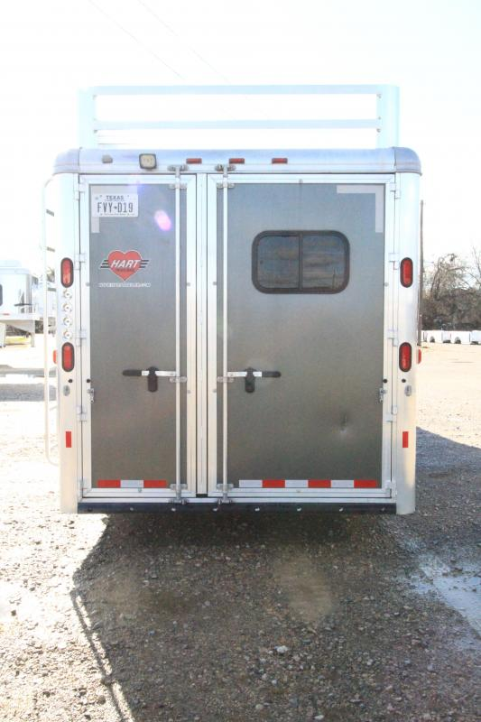2016 Hart Tradition 3H 13' SW LQ Horse Trailer