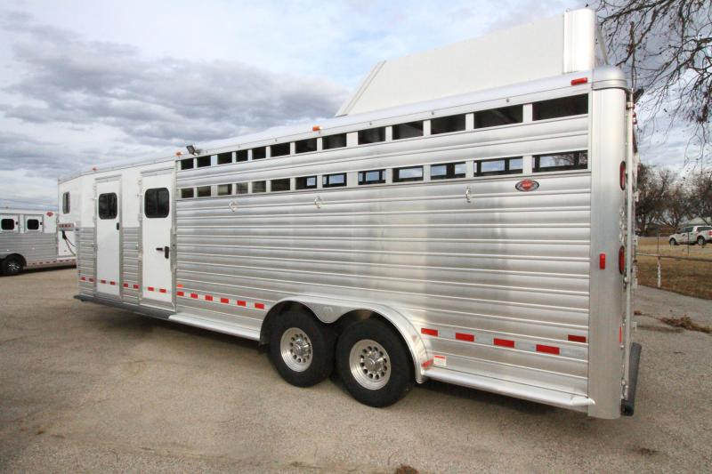 2020 Hart Lariat 26' GN Smart Tack Trailer