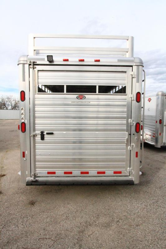 2020 Hart Lariat 20' GN Smart Tack Trailer