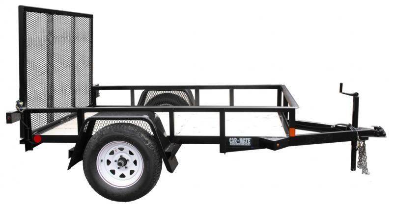 2021 Car Mate 7x12 Utility Trailer 2024322