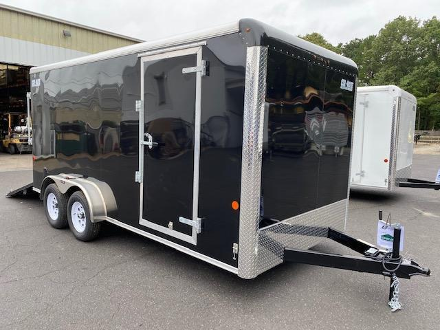 "2021 Car Mate Trailers - 7 X 14 Tandem Axle Custom Enclosed Cargo Trailer W/ 6"" Additional Height 2022826"