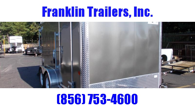 2021 Car Mate  7X12 Enclosed Cargo Trailer 2022612