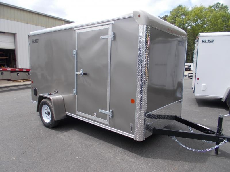 2021 Car Mate 6x12 Enclosed Cargo Trailer 2024219