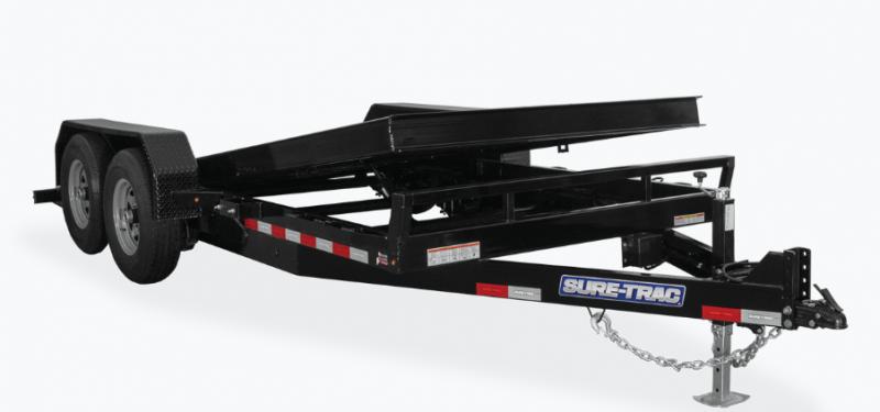 2021 Sure-Trac 7x18 14K  Equipment Trailer 202309