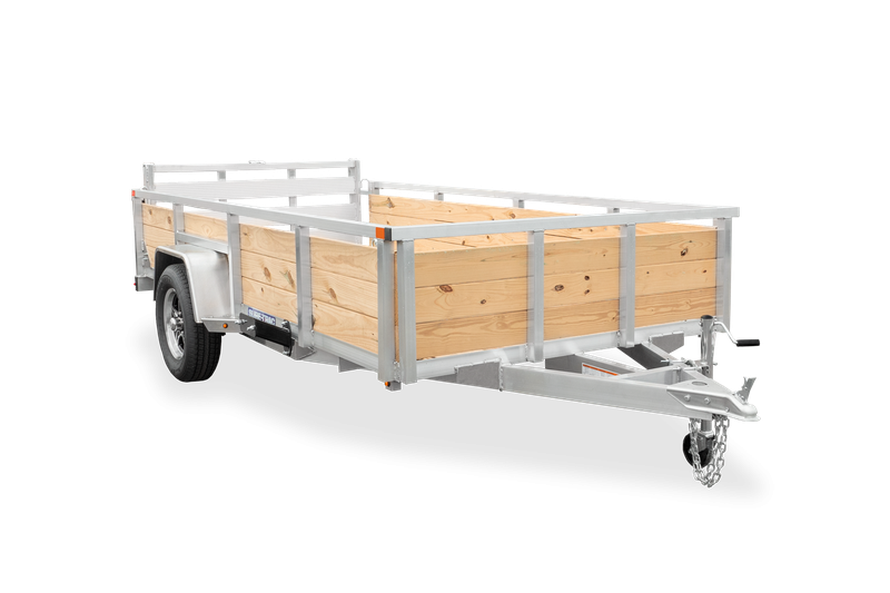 2021 Sure-Trac 7X12 High Side Aluminum Utility Trailer 2023213