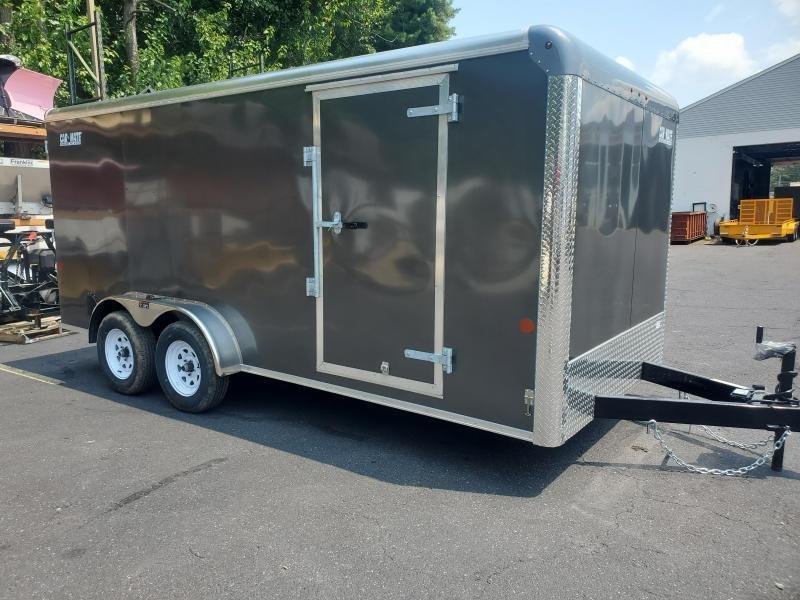 2021 Car Mate 7x16 7K Enclosed Cargo Trailer 2024595