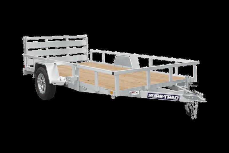 2021 Sure-Trac 6X10 3K Aluminum Utility Trailer 2023201