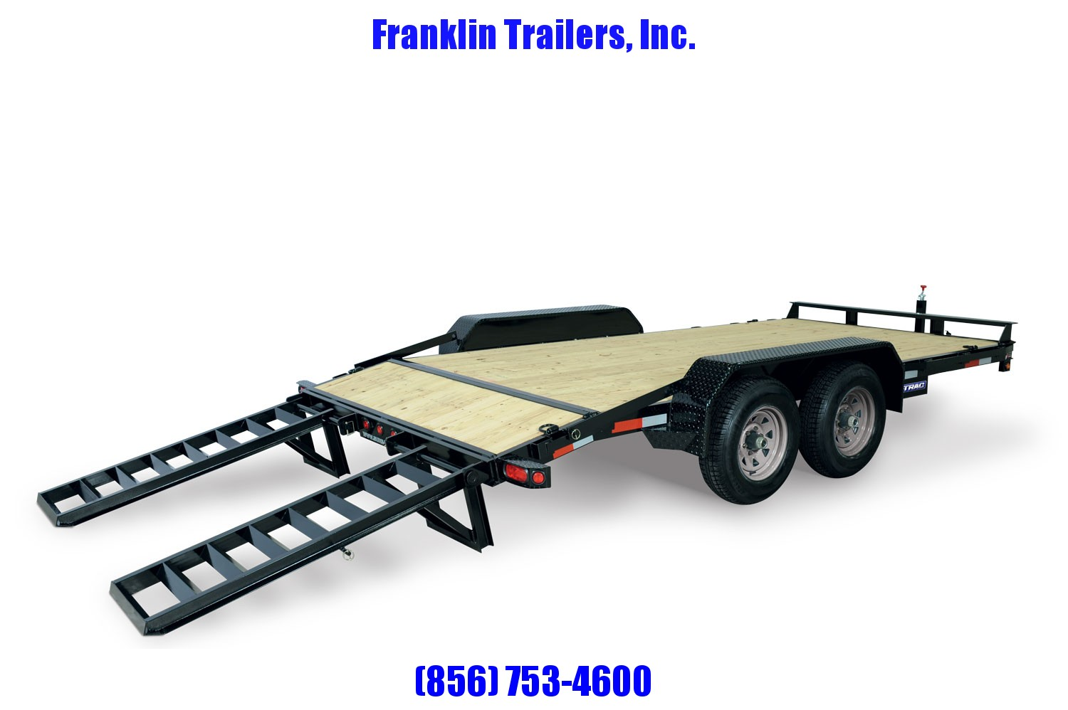 2020 Sure-Trac 7 x 22 Equipment Trailer  16k 2021867