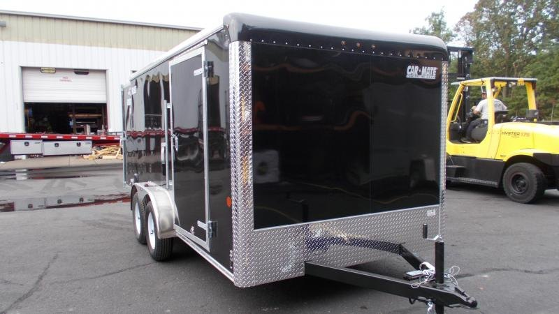 2021 Car Mate Trailers 7x14 Enclosed Cargo Trailer 20229734