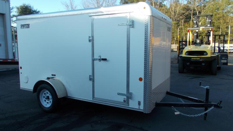 2021 Car Mate 6x12 Enclosed Cargo Trailer 2023415
