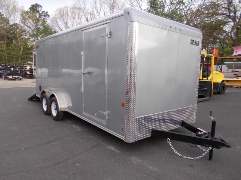 2021 Car Mate 7x18 7k Enclosed Cargo Trailer 2024069