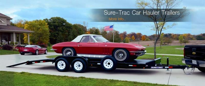 2021 Sure-Trac 7 x 18 10K Steel Deck Car Hauler 2023144