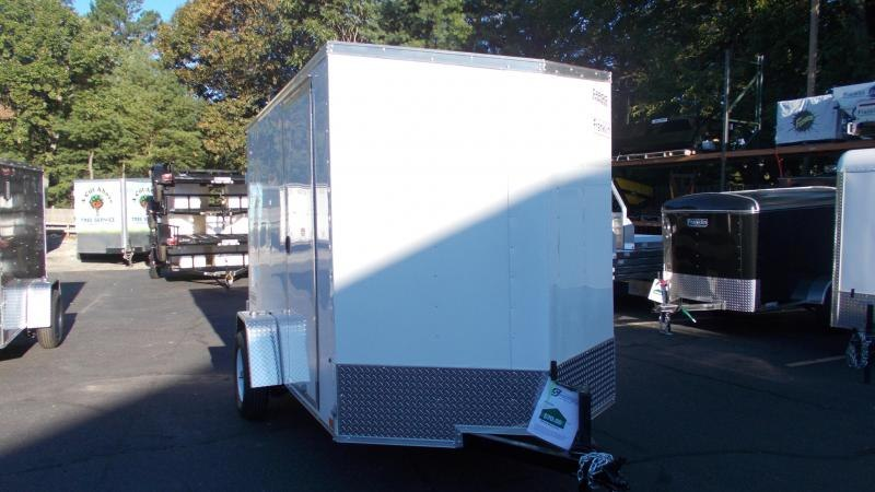 "2021 Cargo Express 6 X 10 Enclosed Cargo Trailer W/ 6"" Additional Height 2022886"