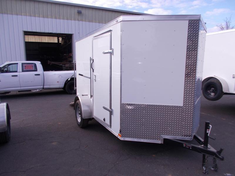 2021 Lark 6X10 V-Nose Enclosed Cargo Trailer 2023494