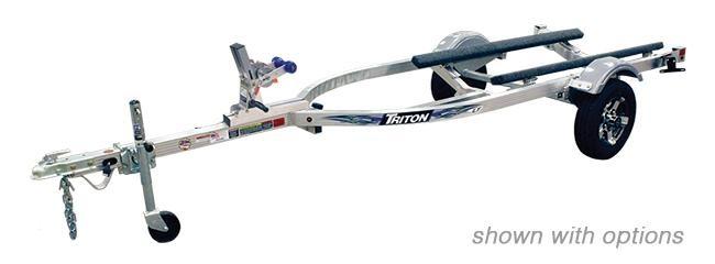 2021 Triton Trailers LTWCI-TX Aluminum Single Watercraft Trailer 2023066