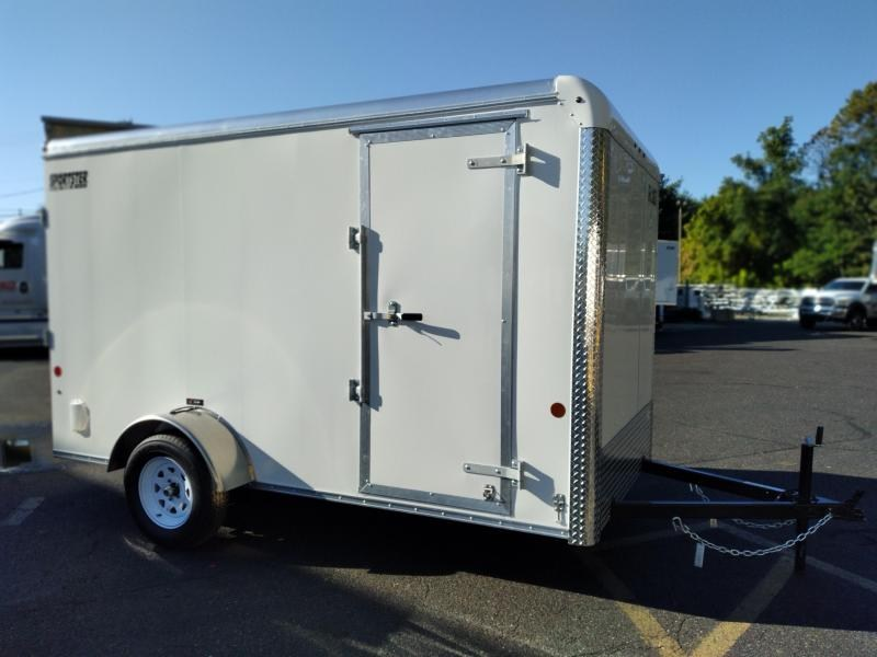 """2021 Car Mate 6x12 Enclosed Cargo Trailer with 6"""" Addt'l Interior Height 2024871"""