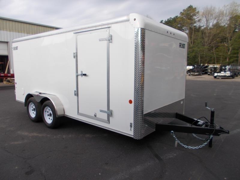 2021 Car Mate 7x16 7k Enclosed Cargo Trailer 2024068