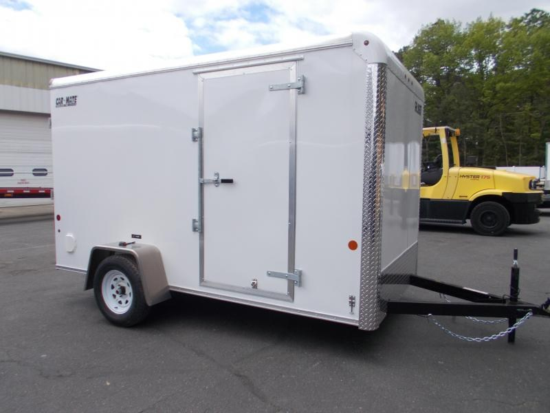 "2021 Car Mate 6x12 Enclosed Cargo Trailer With 6"" Addt'l Height 2024220"