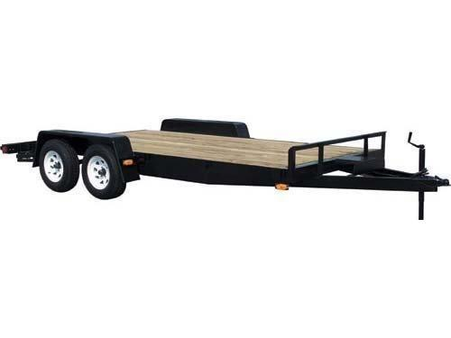 Car Mate 8x18 Wood Deck  Car / Racing Trailer 2023013