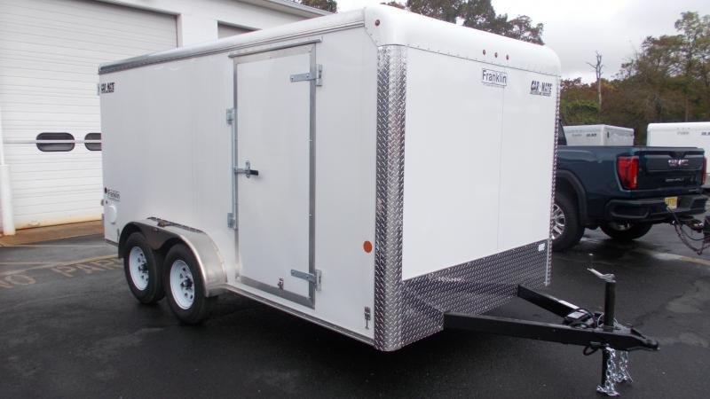 2021 Car Mate Trailers 7x14 Enclosed Cargo Trailer 2023044