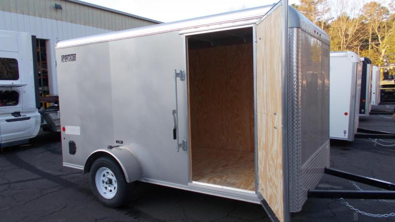2021 Car Mate 6x12 Enclosed Cargo Trailer 2023418
