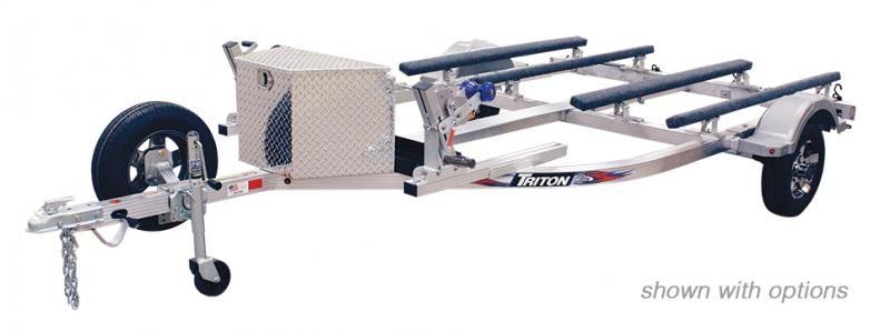 2021 Triton Trailers ELITE WCII Aluminum Double Watercraft Trailer 2023062