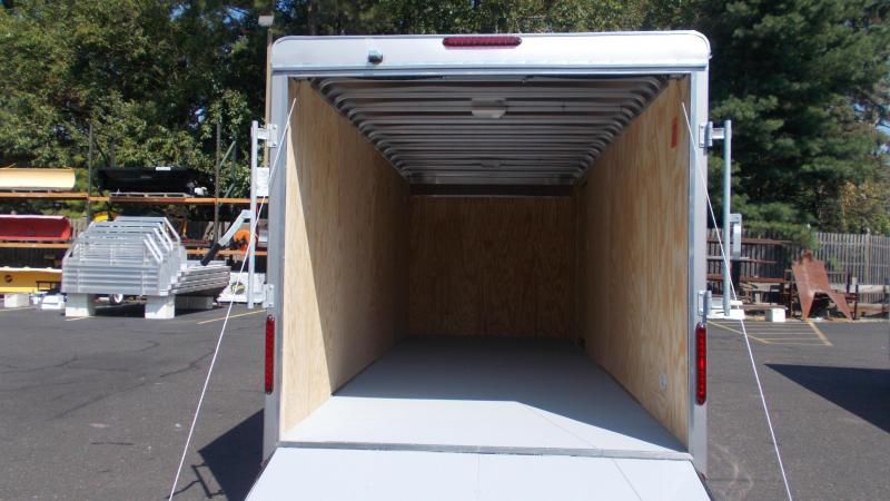 "2021 Car Mate Trailers - 7 X 18 Tandem Axle Custom Enclosed Cargo Trailer W/ 6"" Additional Height 2022823"