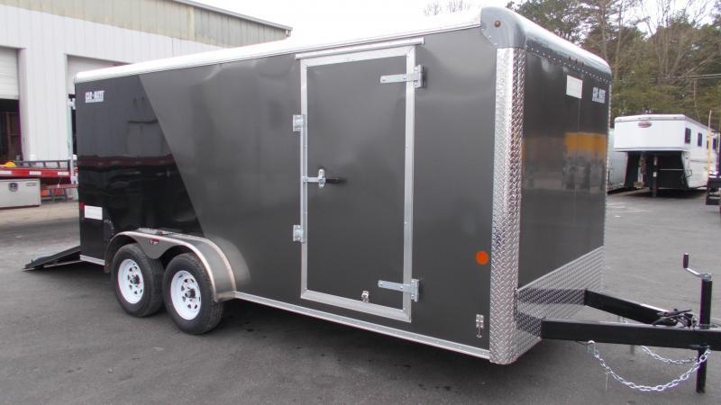 2021 Car Mate 7x16 Enclosed Cargo Trailer 2023390